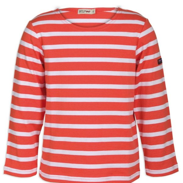 camiseta larga roja niña