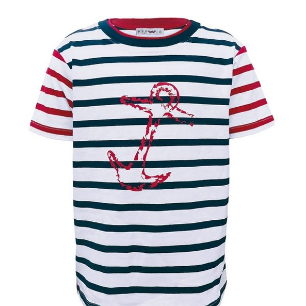 camiseta niño rayas